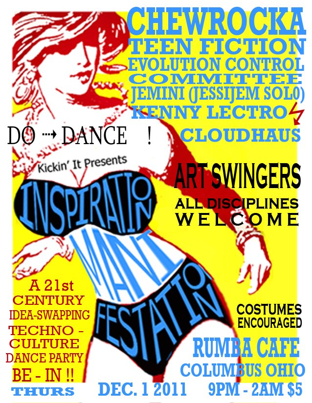 Inspiration Manifestation flyer
