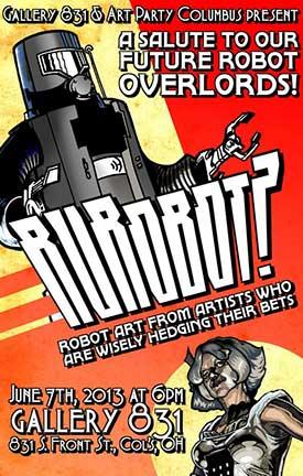 RURobot? Art Show poster