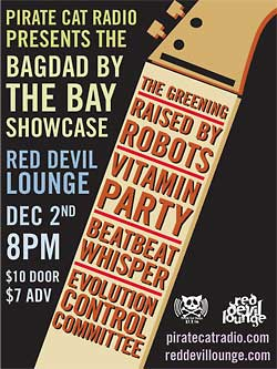 Baghdad By The Bay flyer