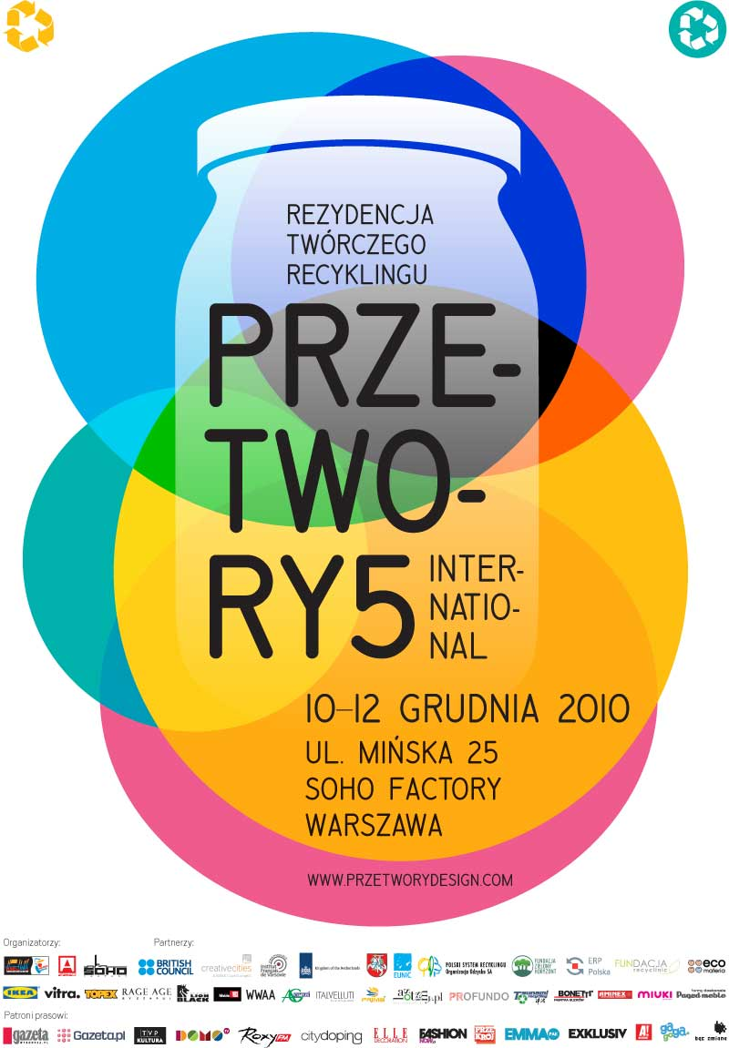 Przetwory (Recycles) 5 event poster