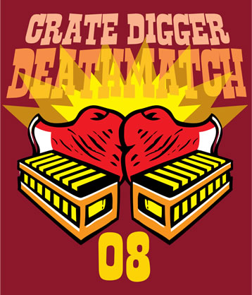 Crate Digger Death-Match logo