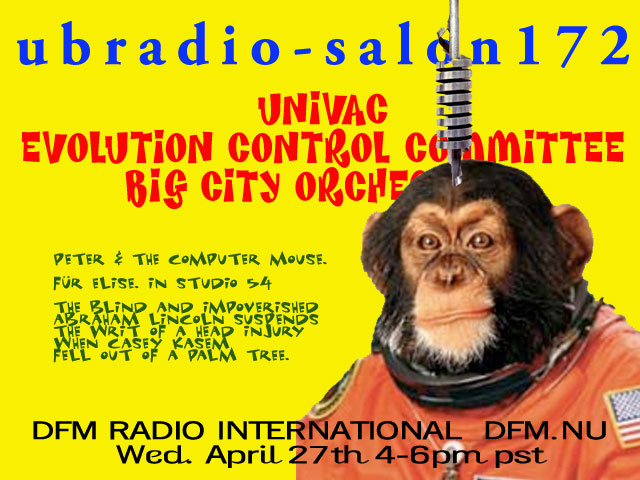 ubRadio Salon flyer