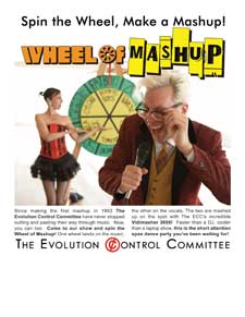 Wheel Of Mashup flyer
