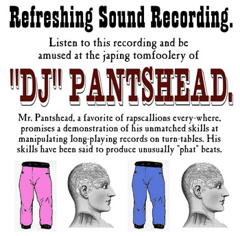 DJ Pantshead's Refreshing Recording CD cover