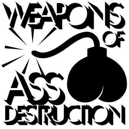 Weapons of Ass Destruction CD cover